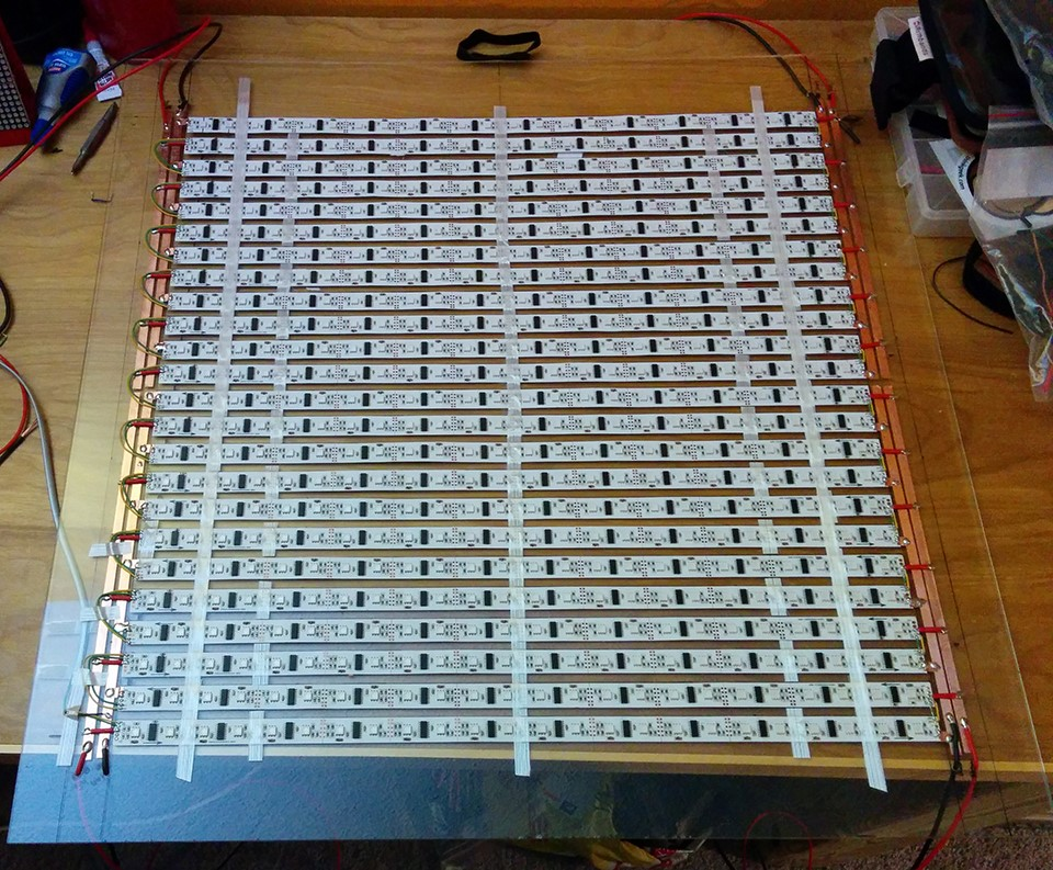 LPD8806 Matrix