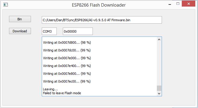 ESP8266_FlashTool