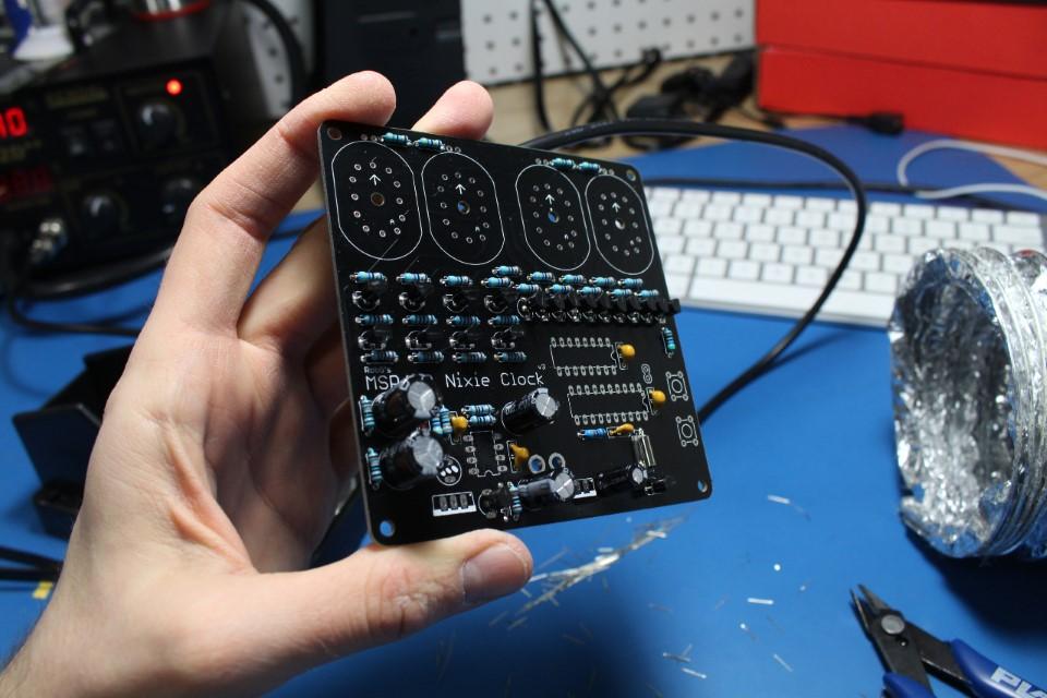 MSP430NixeTubeClock-05